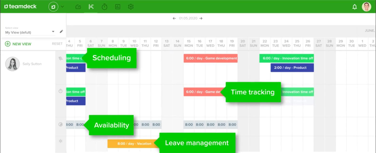 Teamdeck Calendar – Video